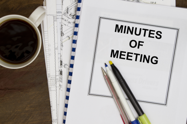 minute of a meeting