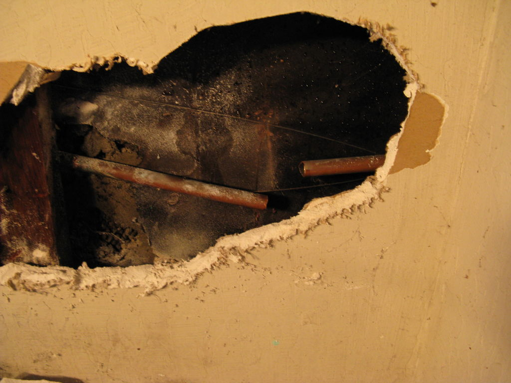 How To Fix A Broken Water Pipe In The Wall Mycoffeepot Org